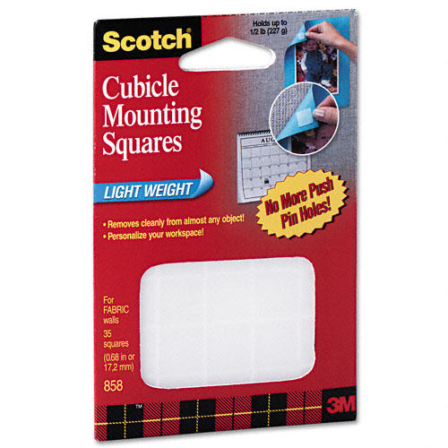Item Detail Cubicle Mounting Squares Lightweight